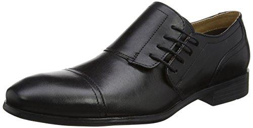 Red Tape Marbury, Chaussures à lacets homme Noir (noir)