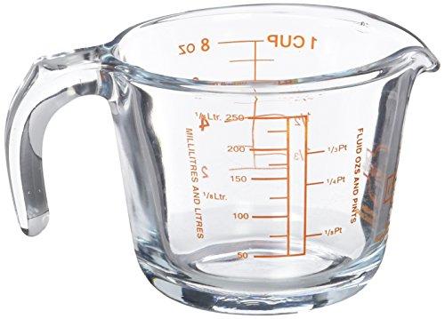 Arcuisine 4937258 - Jarra medidora, 0,25 l, transparente