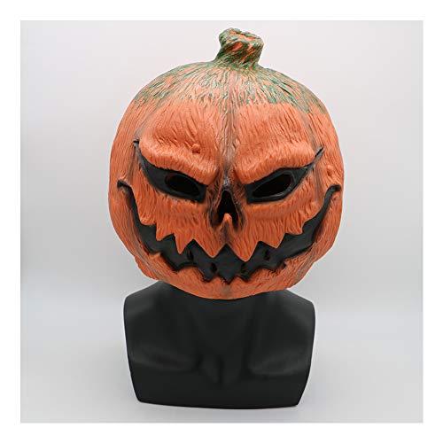 Face Kostüm Besten 2 Am - XIN1993 Halloween Horror Kürbis Maske/Ghost Festival Funny Face Latex Kopfbedeckung/Geeignet Für Das Abschlussballkleid, Um Die Dekoration COS Requisiten Zu Zeigen