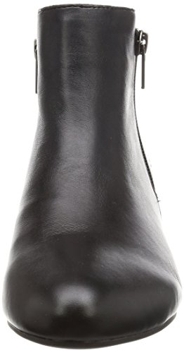 Rockport Damen Total Motion Esha Emese Zip Kurzschaft Stiefel Schwarz (Schwarzes Leder)