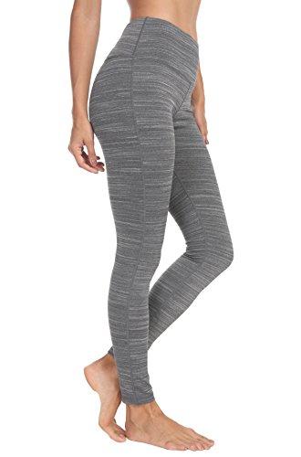 Queenie Ke Damen Power Flex Yoga Hosen Training Laufende Leggings Farbe Grau#3 Größe S