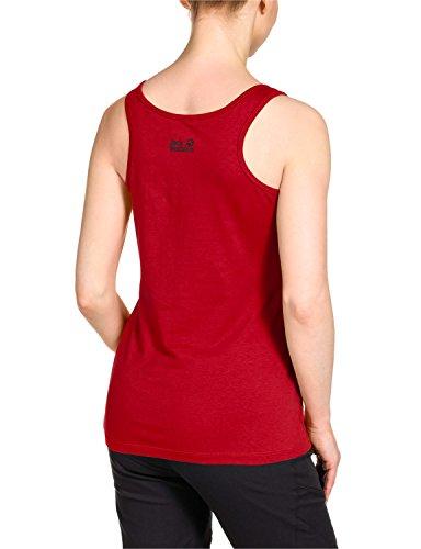Jack Wolfskin Damen Shirt LISMORE OC TOP W Red Fire
