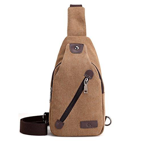 Mens messenger bags,canvas-tasche,einzigen umhängetasche,sporttasche-schwarz braun