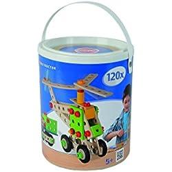 Simba Smoby Heros - Cubo de bloques de construcción (120 piezas)