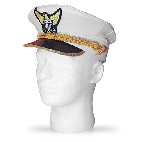 Dress Up America Navy Captain Admiral Hut für ()