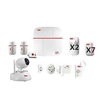 Abto VCARE Alarm System, Weiß, Vcare Sistema di allarme casa - F