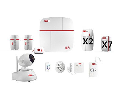 Abto VCARE Alarm System, Weiß, Vcare Sistema di allarme casa - F -