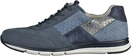 Gabor Comfort Damenschuhe 46.306 Damen Schnürhalbschuhe Sneaker Blau