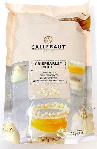 Callebaut Weiße Schokoladen-Crispearls – geröstete Biskuit-Perlen in weißer Schokolade 800g