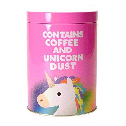 Jolly Awesome Einhorn Kaffeedose - Vorratsdose Blechdose Metalldose