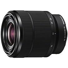 Sony FE 28-70mm f/3.5-5.6 OSS - Objetivo para Sony (distancia focal 28-70mm, apertura f/3.5-36, zoom óptico 2.5x,estabilizador óptico, diámetro: 55mm) negro