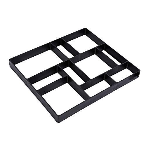 EBTOOLS Molde de pavimento, Molde de plástico para hormigón, Escalada, Piedra, jardín,...