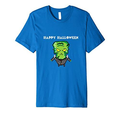 Frankenstein Happy Halloween Party Geschenk familientaugliches Tee