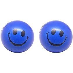 CDKJ 2x Emoji Pelota Azul