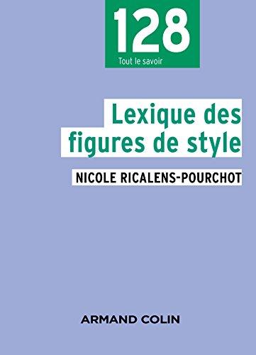 Lexique des figures de style - 2e éd