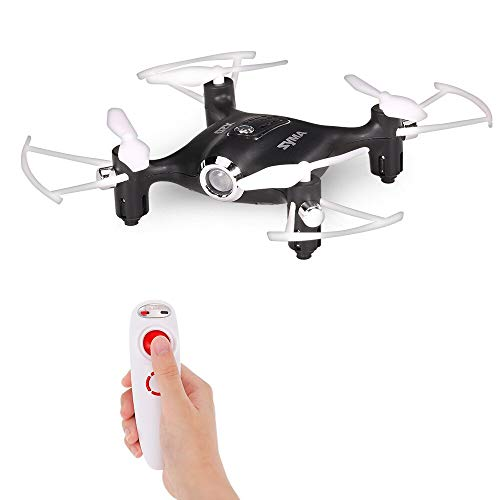 Syma X20-S Drone with 2.4G 4CH 6Axis Barometer Set Height Headless Mode Gravity Control Nano RC Quadcopter, Black