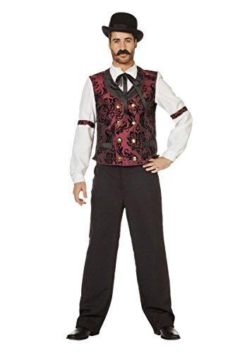 n Kostüm Poker Spieler Karneval Fasching Gr.54 (Pokerspieler Kostüm)