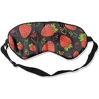 Schlafmaske, bunte Erdbeeren, verstellbare Augenmaske preisvergleich bei billige-tabletten.eu