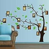 Gleecare Wandaufkleber Foto Wand Aufkleber Wohnzimmer Schlafzimmer dekorieren Fotowand Aufkleber Foto Baum Aufkleber abnehmbarer 60 * 90cm