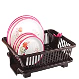Chefstar 3 in 1 Large Sink Set Dish Rack Drainer with Tray