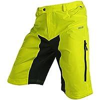 MaMaison007 ARSUXEO Mens Sport equitazione pantaloni corti ciclismo bici bicicletta