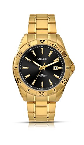 Accurist-Mens-Quartz-Watch-with-Analogue-Display-and-Stainless-Steel-Bracelet