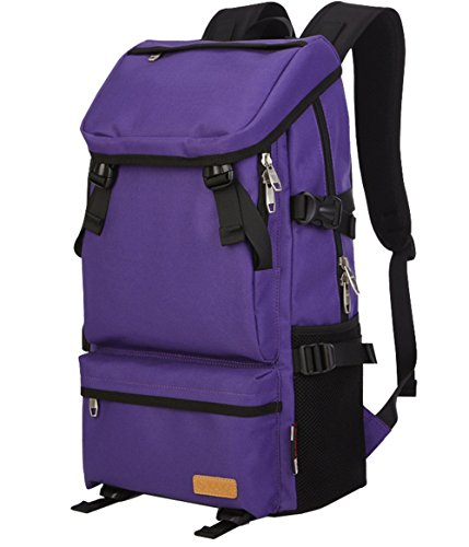 sac-a-epaules-a-dos-impermeable-voyage-unisexe-homme-femme-violet