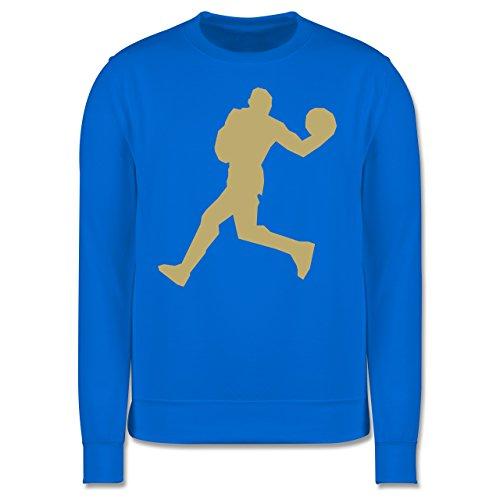 Basketball - Basketball - Herren Premium Pullover Himmelblau