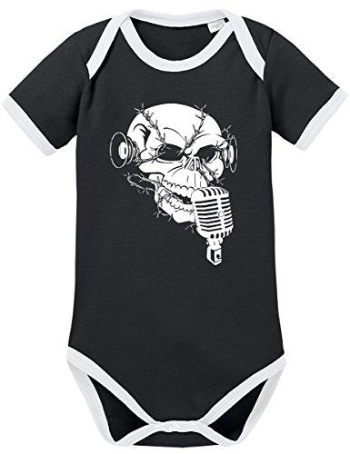 TSP Monkey Noise Kontrast Baby Body 62 Schwarz