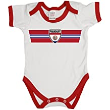 Buzz Shirts Paraguay Patriotic Retro Strip T-Shirt *Elección de Hombre Señoras Niños o