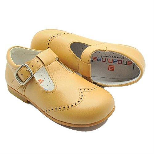 Andanines , Chaussures de ville à lacets pour garçon Marron