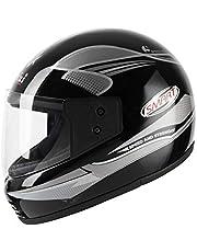 Aeroplus Smart (ISI) Full Face Helmet (580mm,M) (Silver)