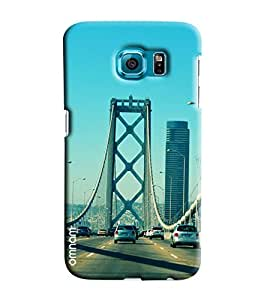 Omnam Rope Bridge Of Usa Printed Designer Back Cover Case For Samsung Galaxy S7