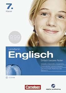 Lernvitamin E - Englisch 7. Klasse