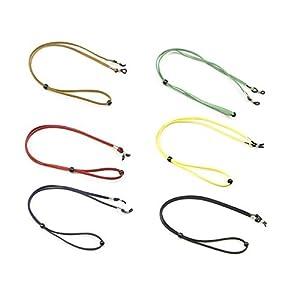 Healifty 6pcs Brillenband Brillenkordel Brille Seil Halter für Männer Frauen Kinder