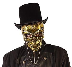 Haunted House- Esqueleto Máscara Steam Punk Skeleton (Rubies S5155)