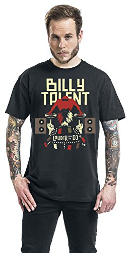 Billy Talent Louder Than The DJ T-Shirt schwarz Schwarz