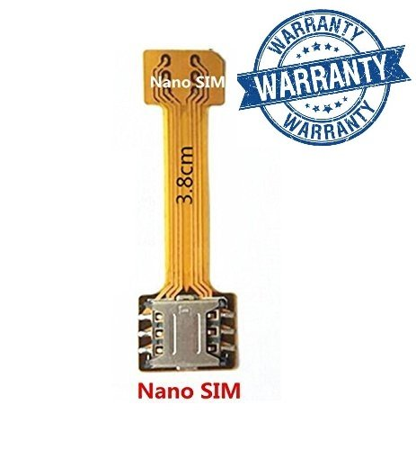Hybrid SIM Slot Adapter, Avails You To Run 2 SIM And Micro SD Card, All At A Time (Nano to Nano Sim Slot)
