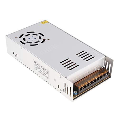 perfk Hochwertige Schaltnetzteil Adapter Spannungs Transformator Metallkasten, AC110V-220V zu DC12V / 24V - 60A 60a Netzteil