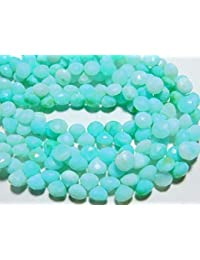 3d66fd445a8f Earth Gems Park Super Fine Quality Gems Jewelry AA-Peru Blue Opal Faceted  Onion Briolettes