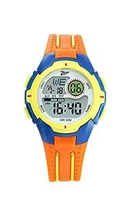 Zoop Digital Grey Dial Boy's Watch-NL16008PP04