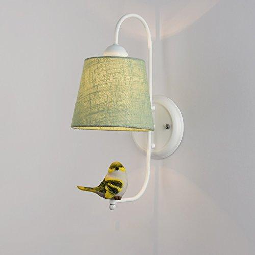 Wandleuchte, Nordeuropa wandleuchte Modernen minimalistischen schlafzimmer nachtwandleuchte Kreative Birdie wohnzimmer gang Treppen lichter E27 (Farbe : #8) -