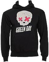 Green Day Skull Kapuzenshirt (Grey)