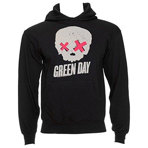 Felpa Dei Green Day Skull (Grigio) - Large