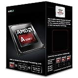 AMD A6-6420K Black Edition - Procesador (AMD A6, Socket FM2, DDR3, 1.8 GHz), plateado