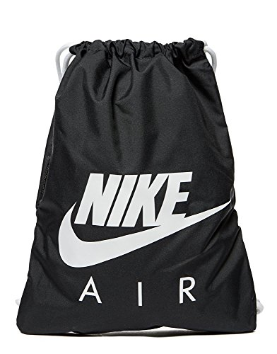 Nike Mochilla Gymsack negro/blanco Nike air