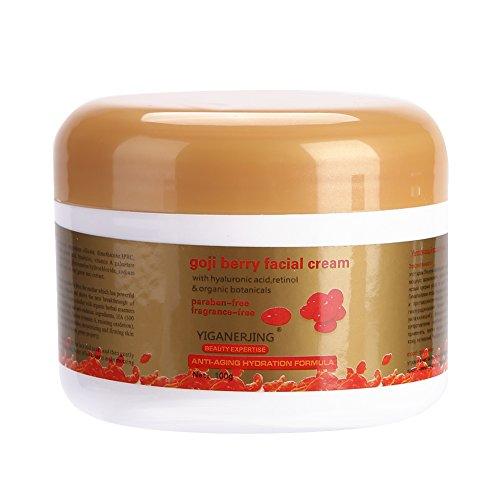 Feuchtigkeitsspendende Whitening Nacht Creme (Gesichtscreme Goji Berry Anti Age Whitening Moisturize Revitalisieren Antioxidans Tag und Nacht Care Cream)