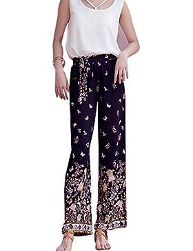 Mujeres Tallas Grandes Pantalon