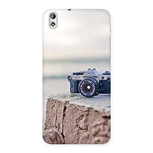 Camera On RockStone Back Case Cover for HTC Desire 816s
