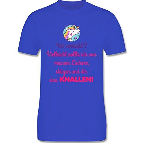 Comic Shirts - Ich verrückt? - Herren Premium T-Shirt Royalblau